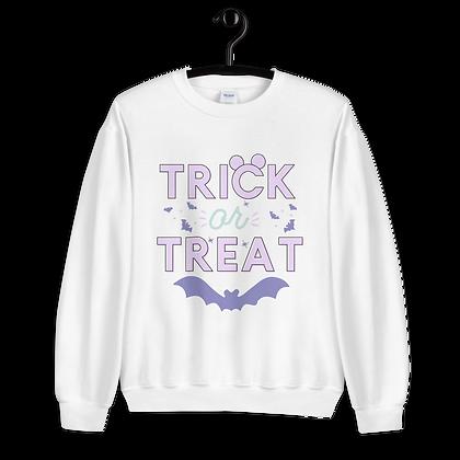 Trick Or Treat Crewneck Pastel (Choose Your Color)