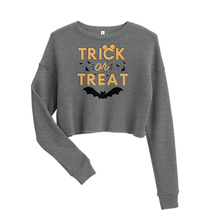 Trick or Treat Crew Crop (Choose your Color)