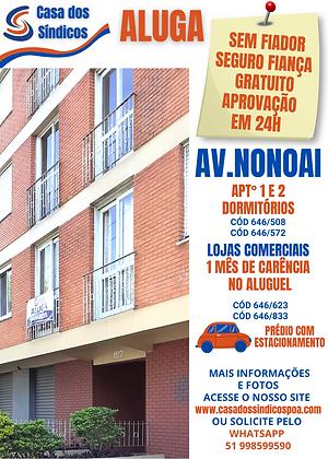 646-508 AV NONOAI Nº 1507 APTº 203