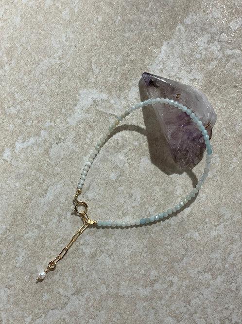 Amazonite guiding stone bracelet