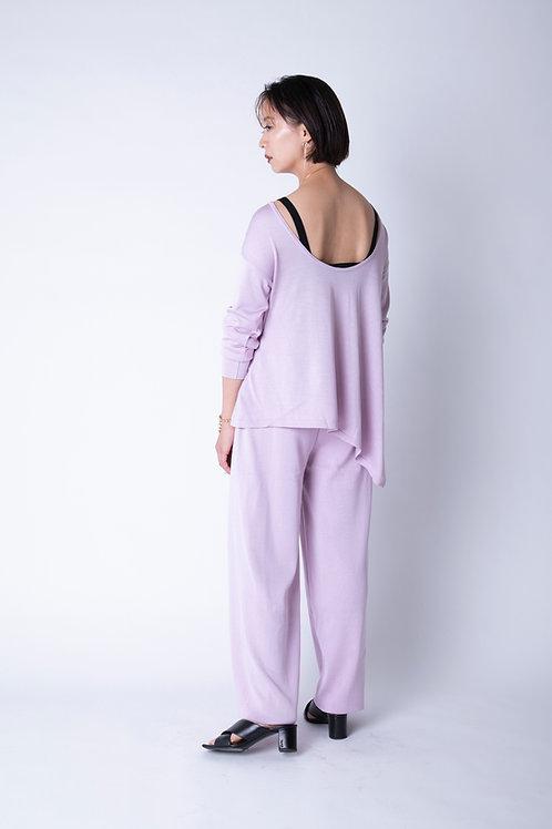 Washable Silk Asymmetry Tops