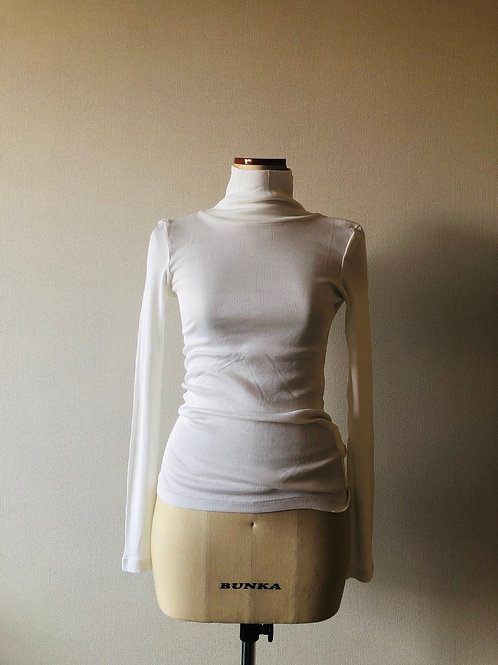 Washable Silk TurtleneckTee