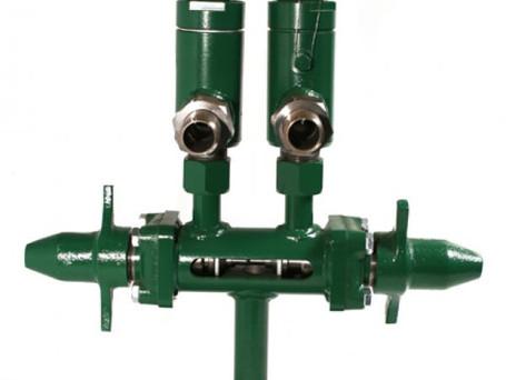 Válvula de bloqueo entre el dispositivo de relevo de presión y el recipiente