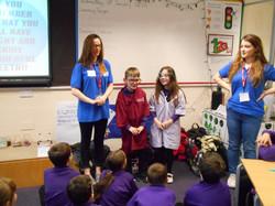 Primary school visit