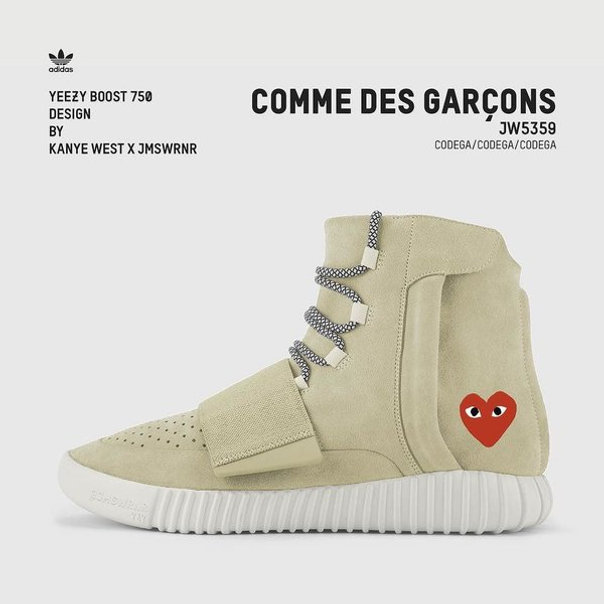 sports shoes 68318 9c38b Check out the Yeezy Boost Custom collaborations concepts below and check  out his Instagram for more of his designs. Let us know what you think of  theses ...