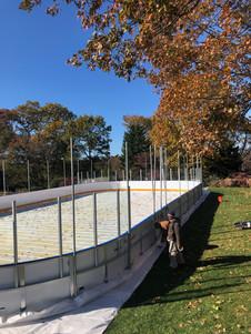 The start of rink season.