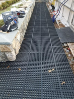 Rubber flooring that can be installed for skaters