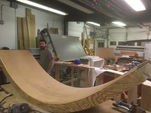 Custom fabrication on-site whe needed