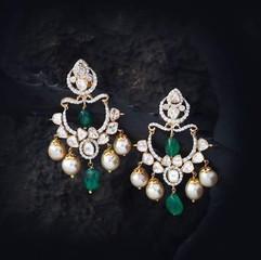 fusion diamond earring