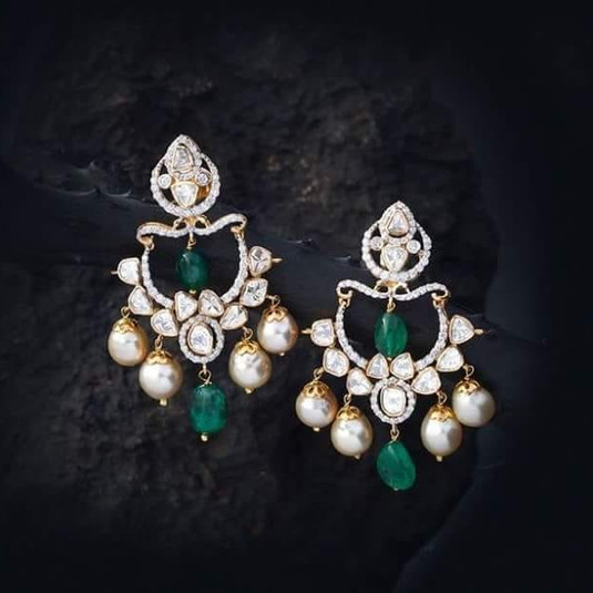 fusion diamond earring