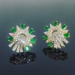 Emerald tops/studs