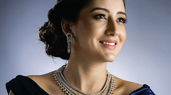 Designer diamond necklace set - Elegant