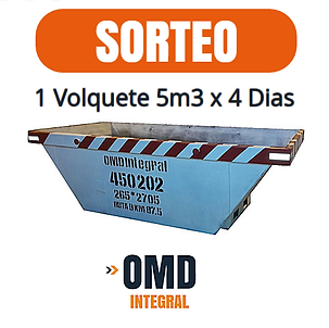 Sorteo Volquetes Zarate OMD Integral