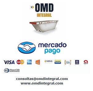 Pago Mercadopago Con Tarjeta de Credito Volquetes Zarate OMD Integral