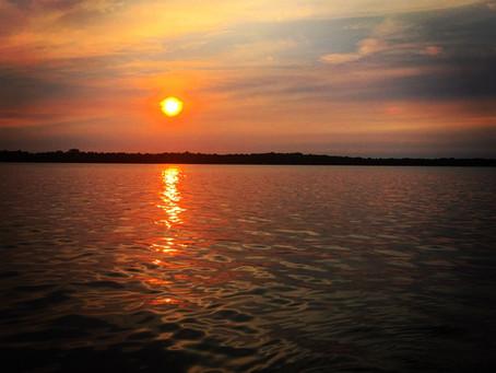 Sunset on Balsam Lake
