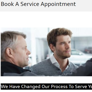 Service Bookings