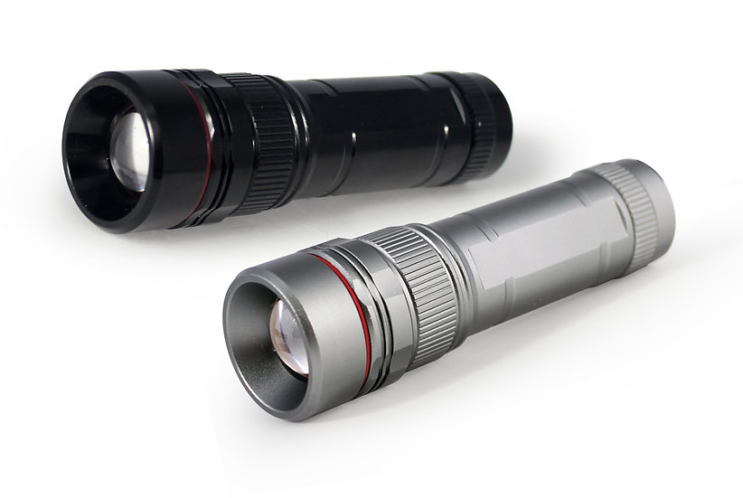 2 MODES ALUMINUM FLASHLIGHT