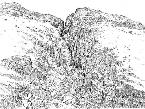 Countrystride #26: PIERS GILL and MOUNTAIN RESCUE