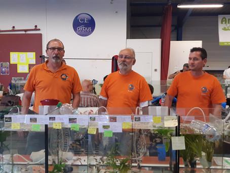 Quelques photos de notre participation à la bourse de Nantes