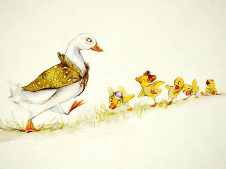 Inspiration for the story - Duckdog