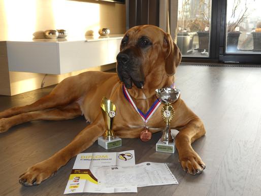 Adina je opět Národním vítězem!🤩/Adine has been again awarded The Czech National Winner!🤩