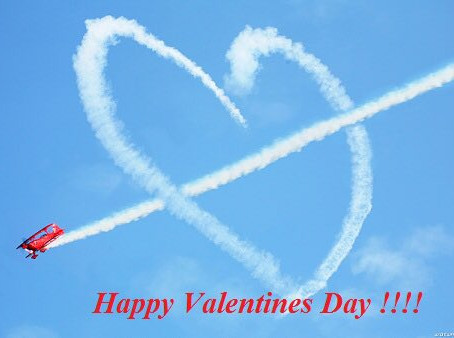 Love is in the air ... Happy Valentine's Day!