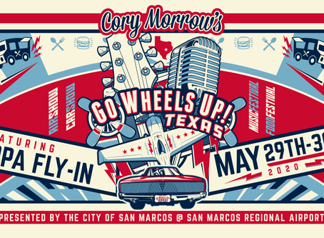 Cory Morrow's Go Wheels Up 2020 / AOPA Fly In Coming to KHYI in May!