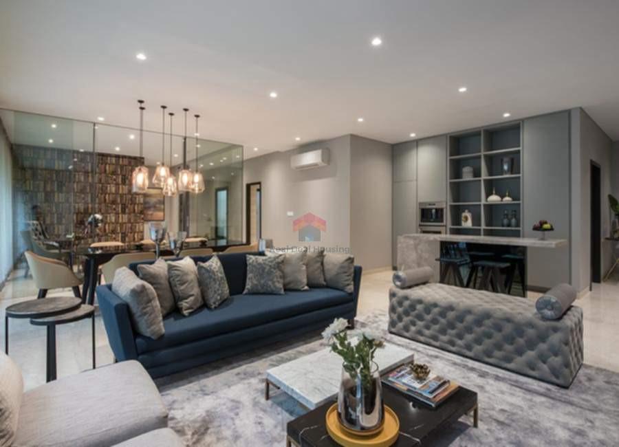 Oberoi-esquire-4BHK-show-apartment-livin