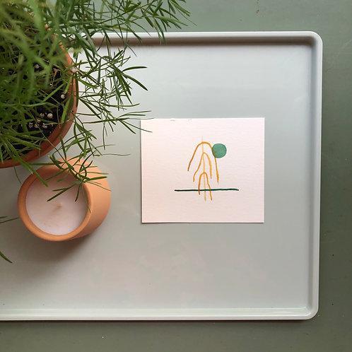 watercolor : wilt