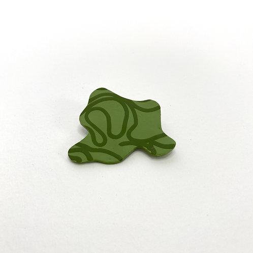 Sage Doodle Pin