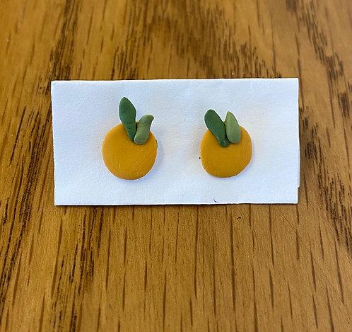 Tiny Lemon Earrings