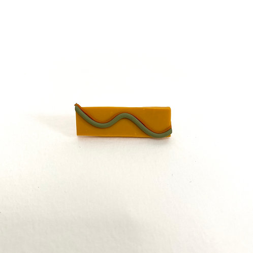 Mustard Wave Pin