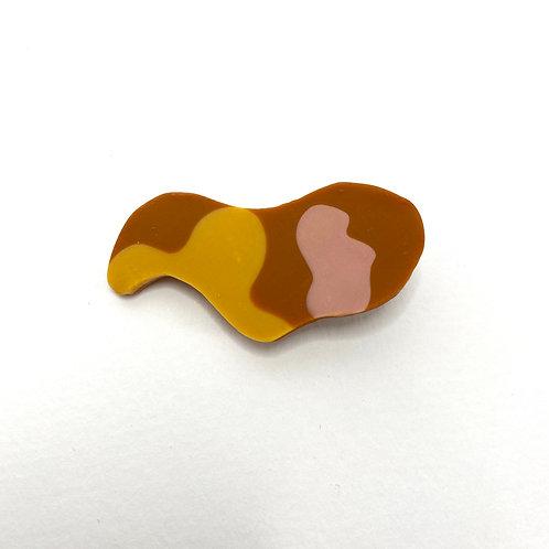 Blob Abstract Hair Clip