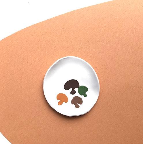 Small Mushroom Dish