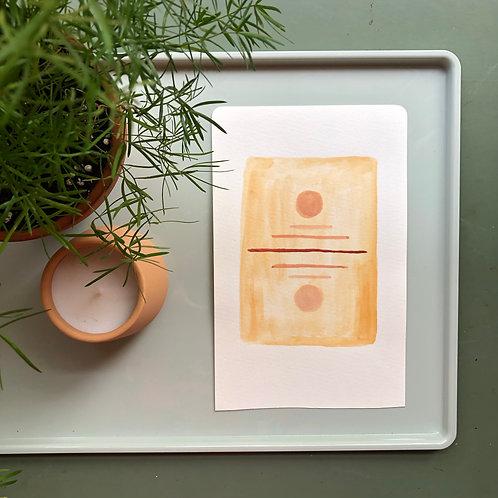 watercolor : reflect