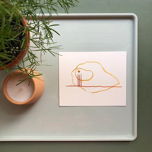 watercolor : pins