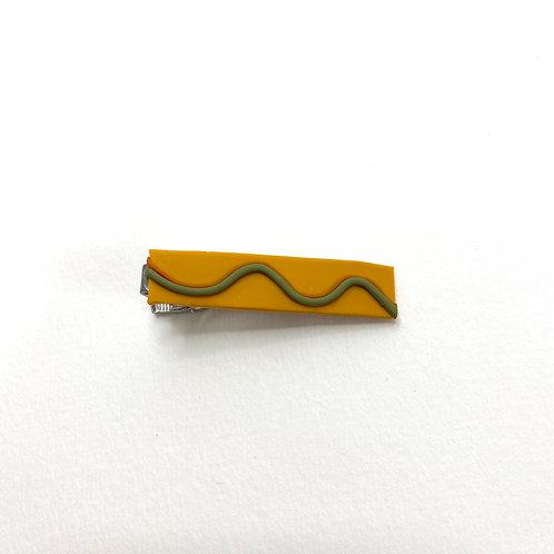 Wave Tie Clip