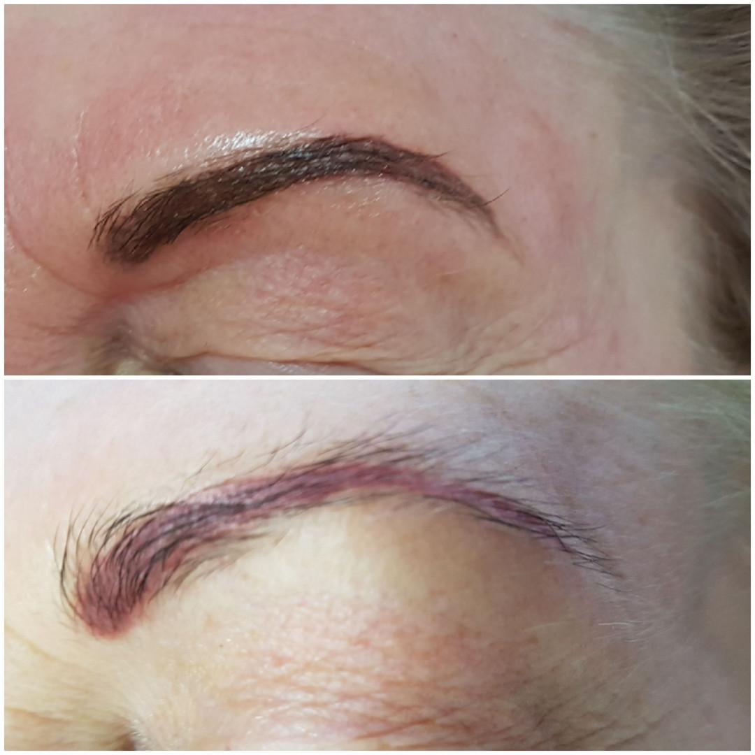 Farbaufrischung mit Permanent Make up