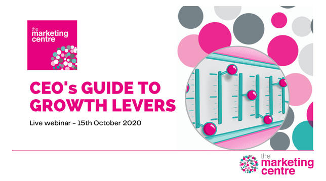 The Marketing Centre - CEO's Guide to Growth Levers - Promotional image
