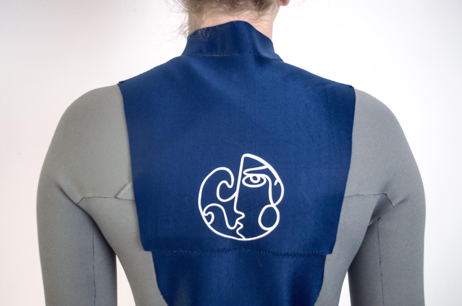 Logo on Wetsuit
