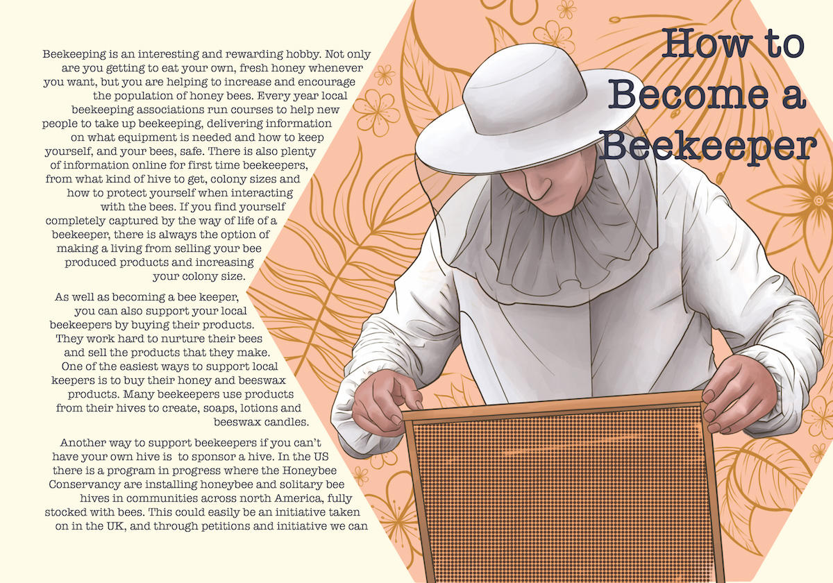 Save the Bees Leaflet Page 3