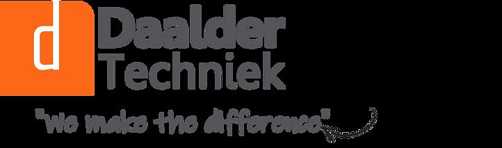 Daalder Techniek Logo ENG Slogan Transpa