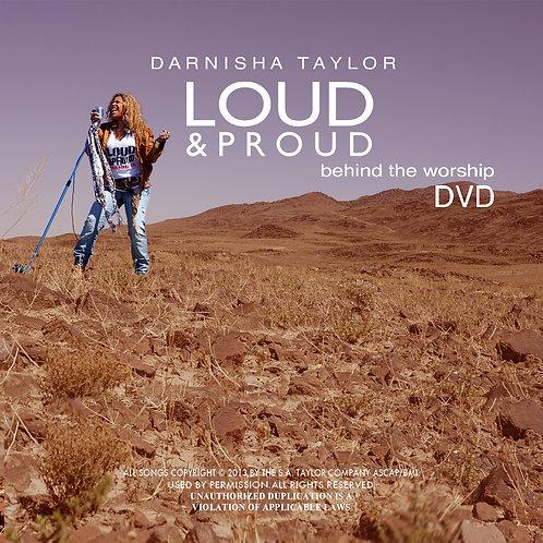 LOUD & PROUD DVD BEHIND THE WORSHIP