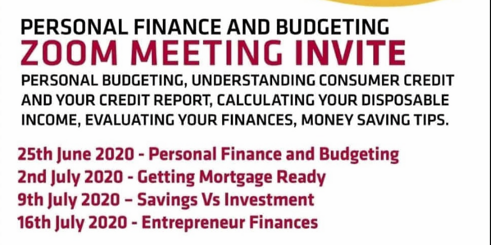 Week 4 - Entrepreneur Finances