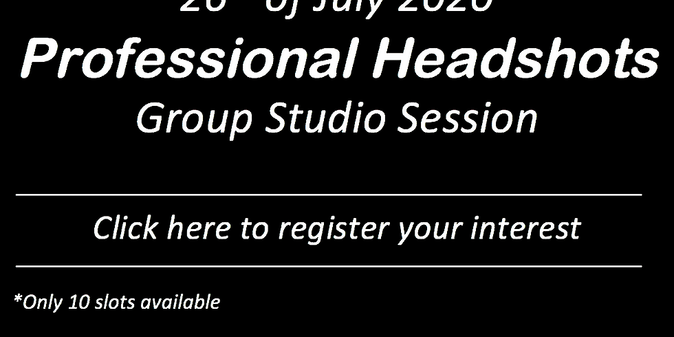 Professional Headshots - SAVE THE DATE