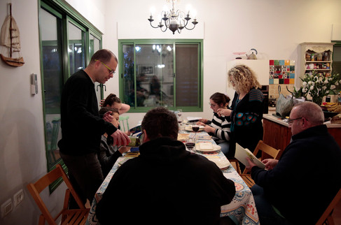 First Seder night without Papa - 31.3.18