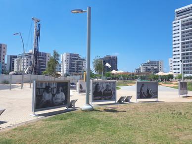 Instalation view -  Park neighborhood, Hadera