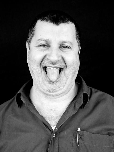 Haim Azaria for tongue out