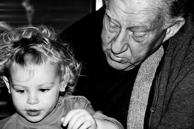 Grandpa  Chima & Ruth 2007