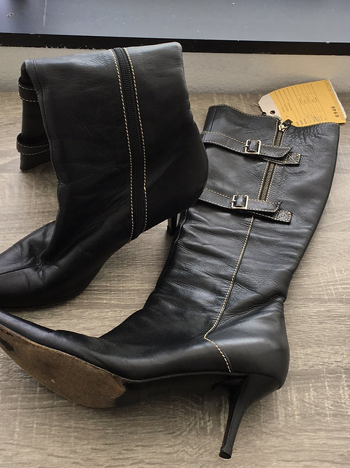 Casadei Leather Boots - Size 8.5
